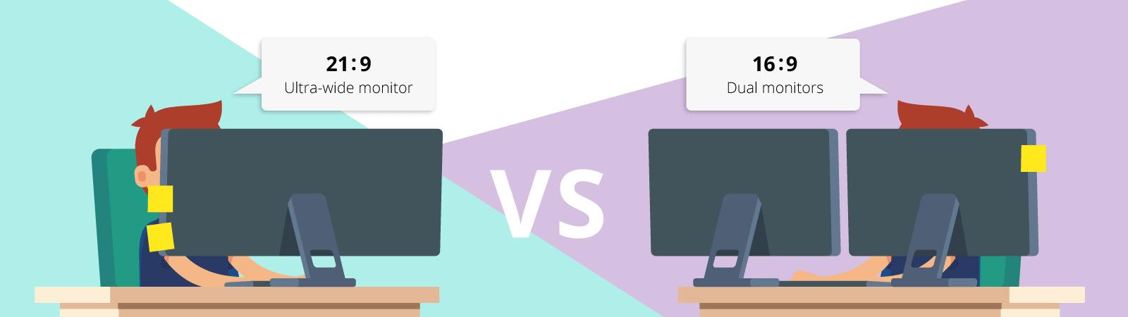 UltraWide vs Dual Monitor