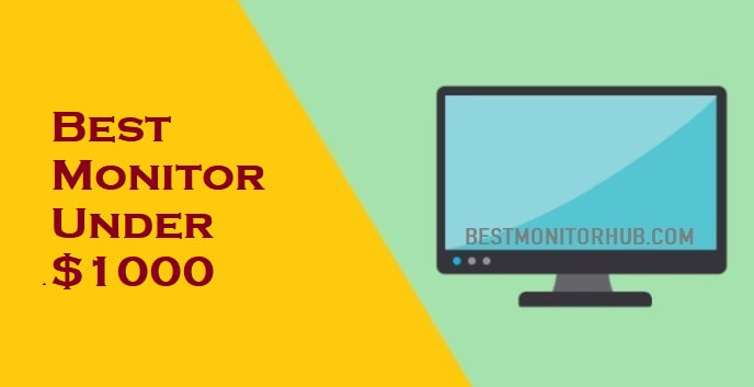 Best Monitor Under $1000