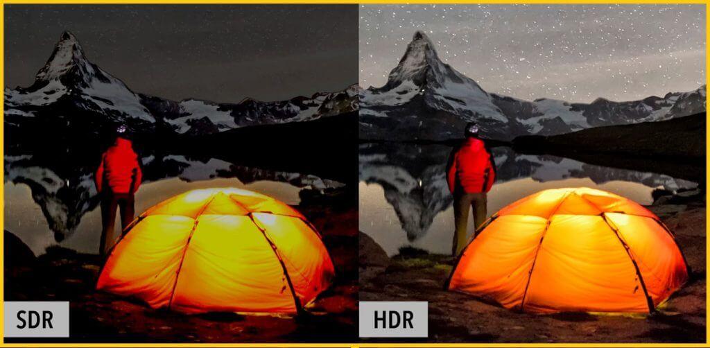 HDR vs. SDR